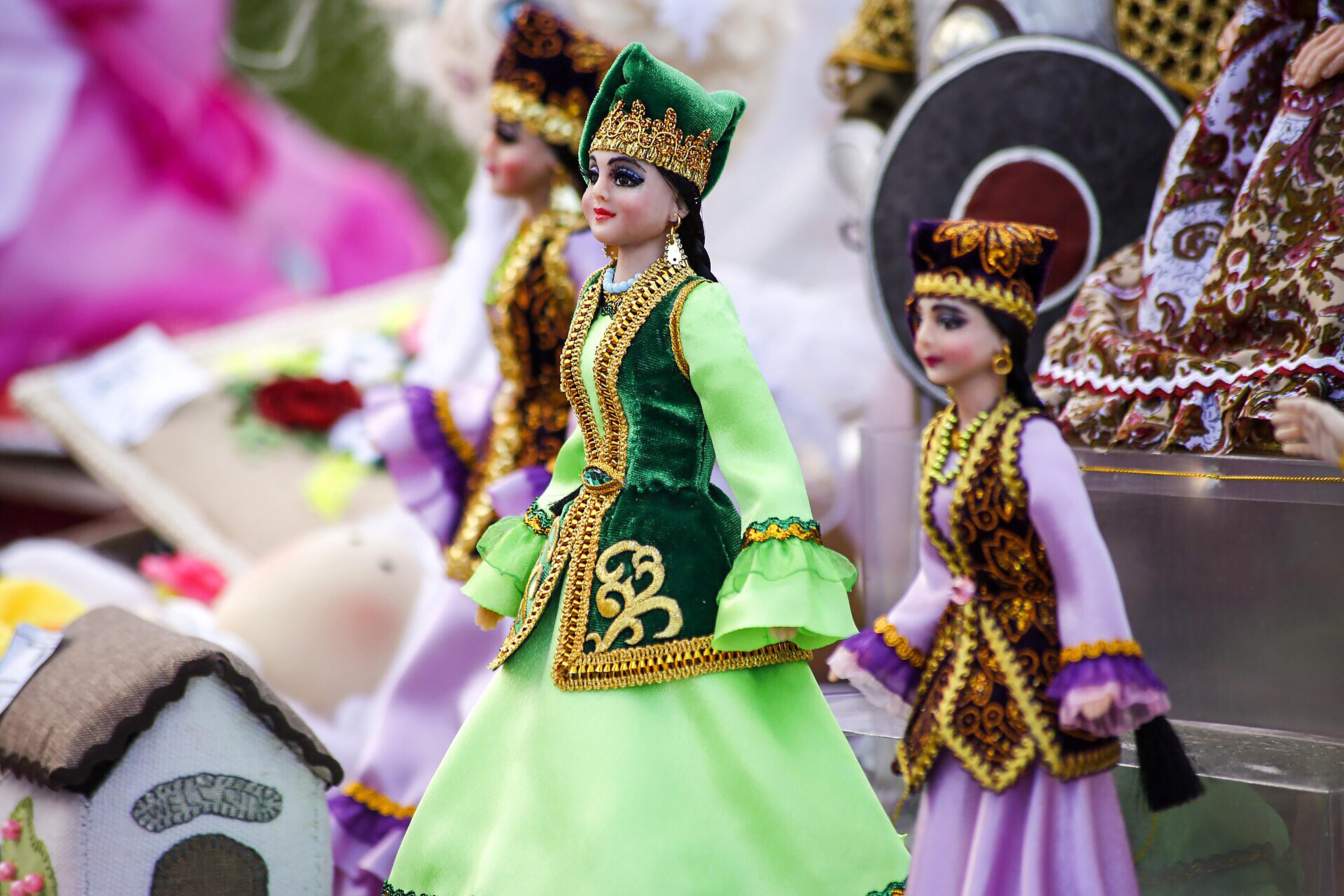 Куклы в татарских народных костюмах картинки